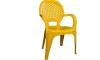 صندلی پلاستیکی دسته دار صبا کد 135